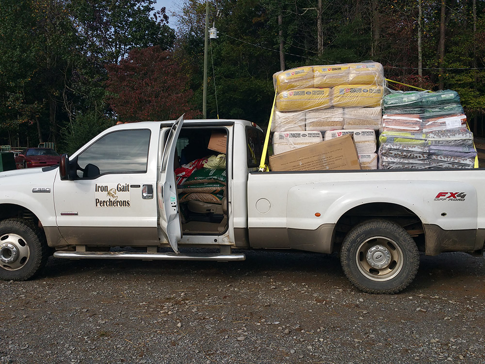 IGP Truck Full of Supplies
